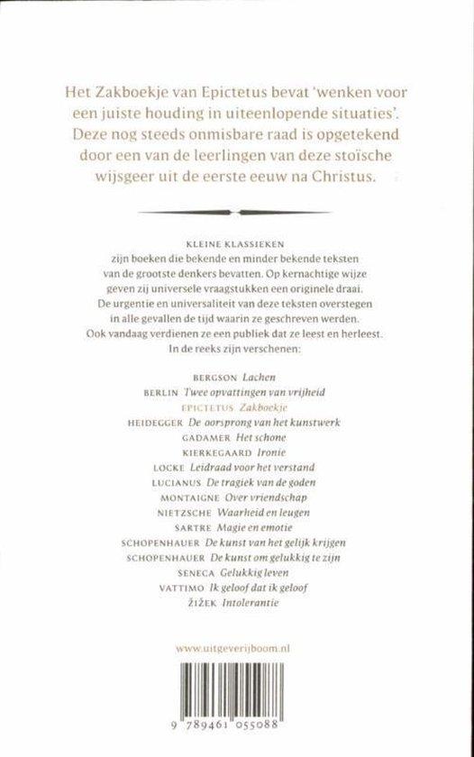 Zakboekje - Epiktetos