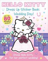 Boek cover Dress Up Sticker Book Wedding Day (Hello Kitty) van
