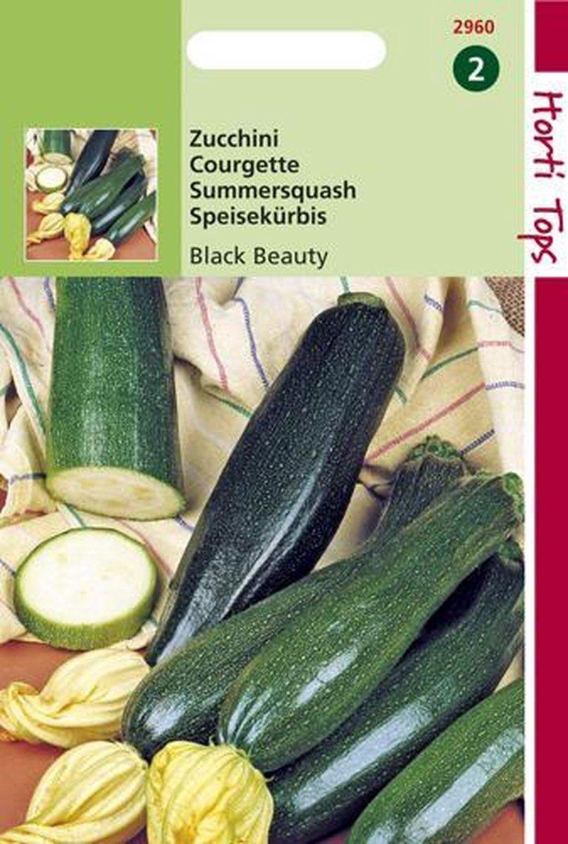 Hortitops Zaden - Courgette Black Beauty - Verte De Milan