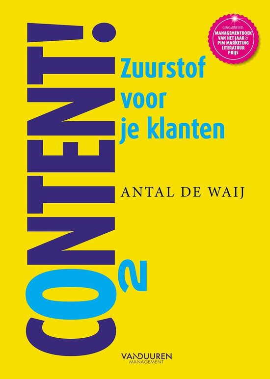 Boek cover Content! van Antal de Waij (Paperback)