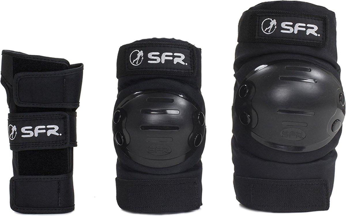 SFR Schaatsbeschermers - Maat M - zwart