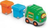 VTech Toet Toet baby auto's vuilniswagen & 2 vuilnisbakken