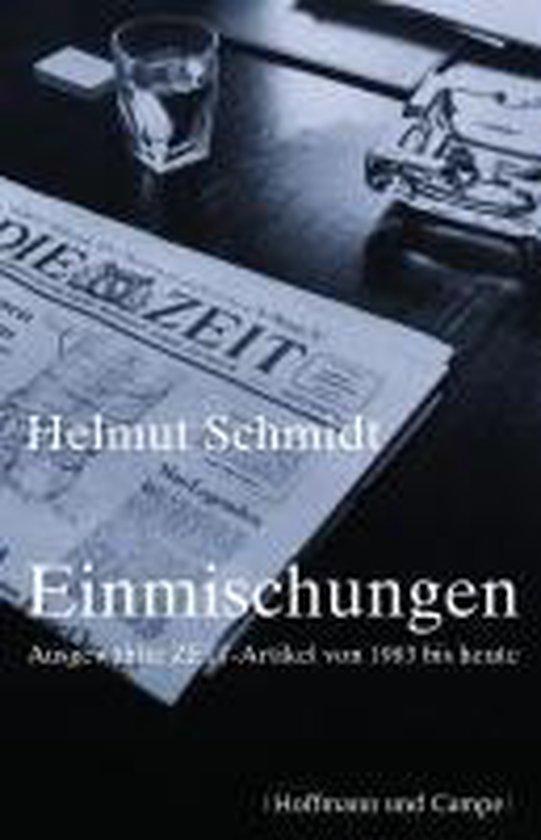 Schmidt, H: Einmischungen