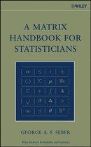 A Matrix Handbook for Statisticians