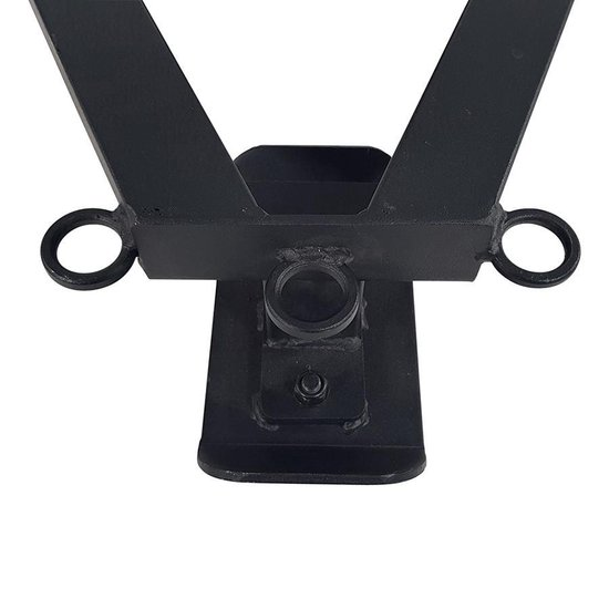 Tunturi Trekharnas X-shape Pull Harness For Sled Zwart