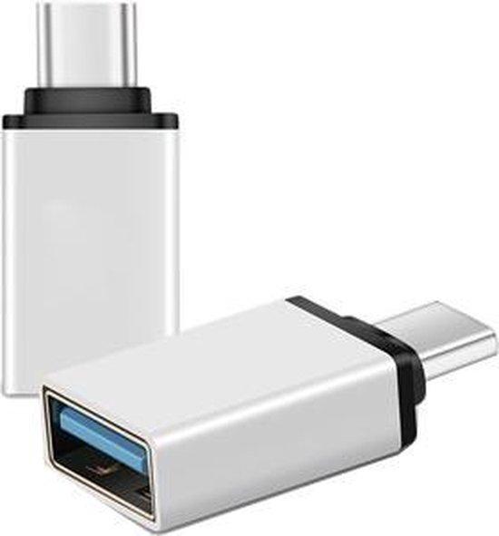 Merkloos USB-C naar USB-A Adapter [2-Pack], Thunderbolt 3 naar USB 3.0 Adapter   Compatible MacBook Pro 2019/2018/2017, MacBook Air 2018, Pixel 3, Dell XPS en meer Type-C Devices