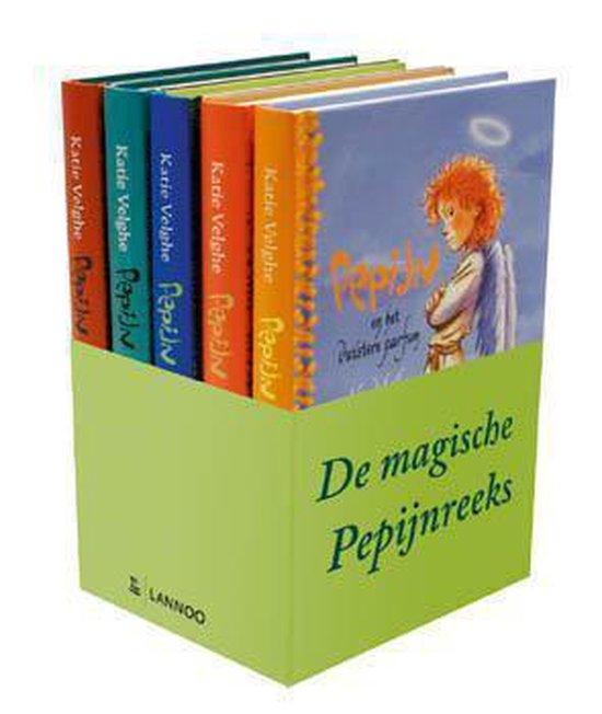 Cover van het boek 'de magische pepijnreeks' van Katie Velghe