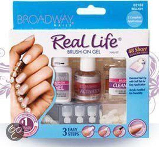 Broadway Nails Real Life Brush On Kit - Gelnagels Kit