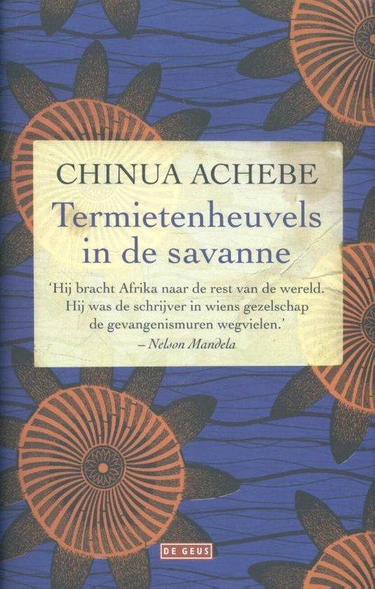 Boek cover Termietenheuvels in de savanne van Chinua Achebe (Hardcover)