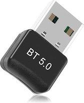 Bluetooth 5.0 USB Adapter - Bluetooth Dongle - Audio Receiver - Transmitter - Bluetooth ontvanger - Windows 10 / 8.1 / 8/7 / XP