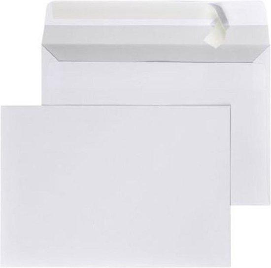 Afbeelding van Enveloppen A5 wit - 162 x 229 mm - zelfklevend - C5 - 25 Stuks - met plakstrip speelgoed