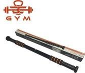 beConcepts® Pull Up Bar - Deurpost optrekstang - Uitschuifbare Pull Up bar Stang - Deur Training/Fitness - 62 Tot 100CM -zwart