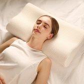 Daily Pillows ®   Ergonomische traagschuim hoofdkussen   Ondersteuning voor nek, schouder & rug klachten