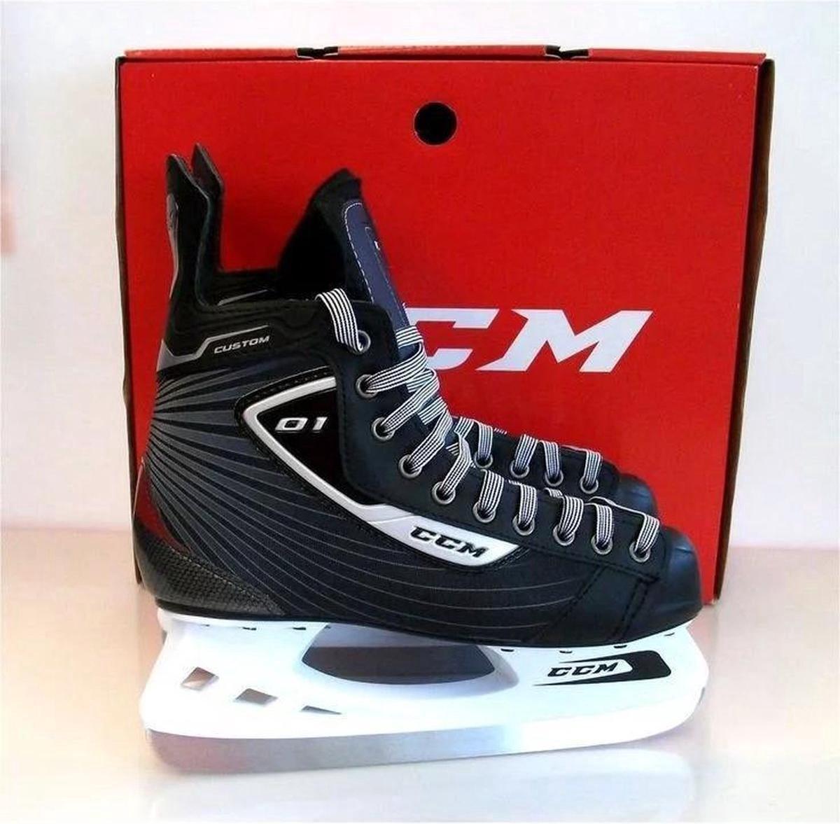 CCM Hockey Skates - SK U +01 - Zwart - Maat 43