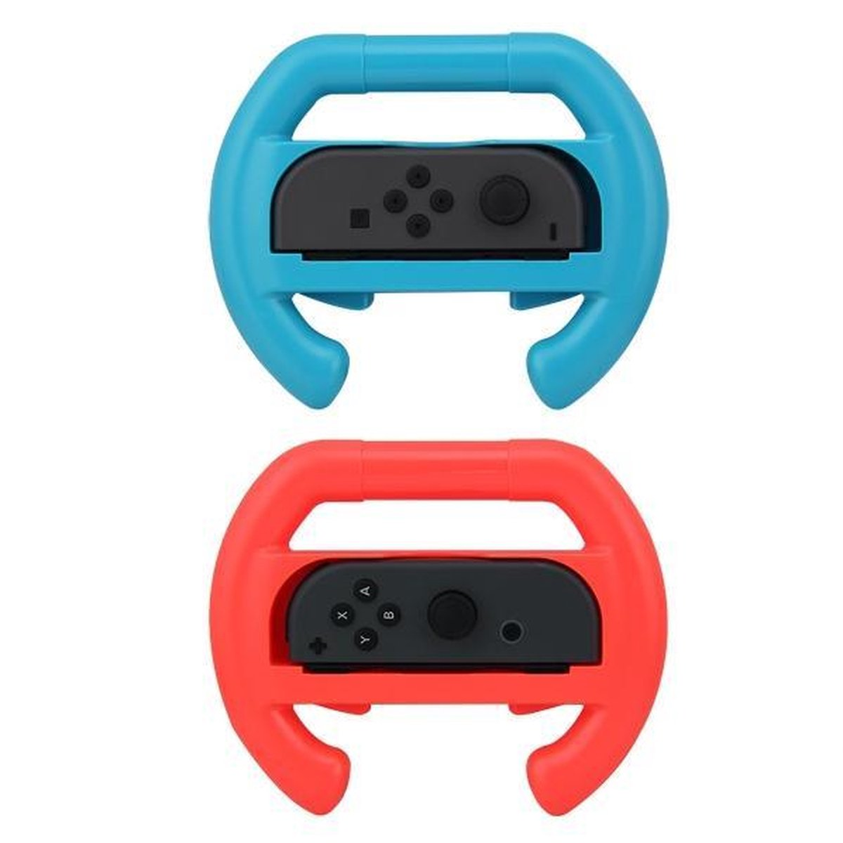 Joy-con Racestuur Set voor Nintendo Switch - Rood & Blauw