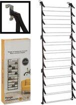 Decopatent® Hangend Schoenenrek 12 Laags voor 36 paar Schoenen - Hangende Schoenenkast voor aan de deur - Schoenenrek Metaal