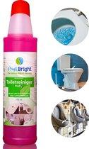 ProfiBright - Toiletreiniger & Ontkalker Profi1 - geen parabenen - biologisch afbreekbaar - 750 ml
