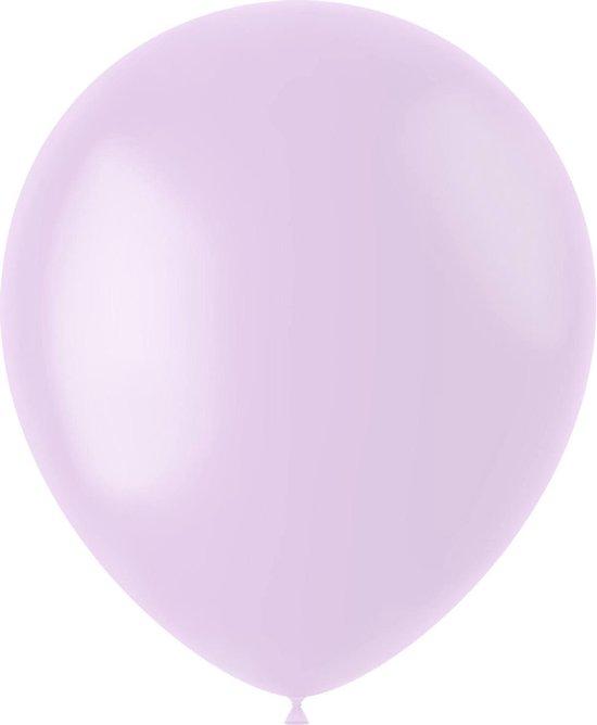 Lila Ballonnen Powder Lilac 33cm 100st