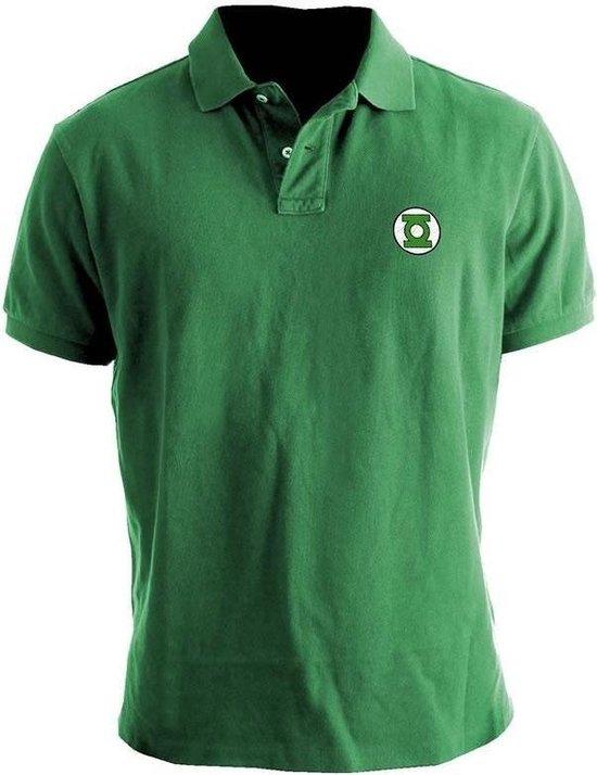 Green Lantern Logo Polo L