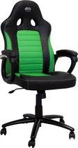 Game Hero x LC-Power Gaming Stoel - Bureaustoel - Vaste Armleuningen - Stoel Met Hoofdleuning - Game Stoel - Gifgroen