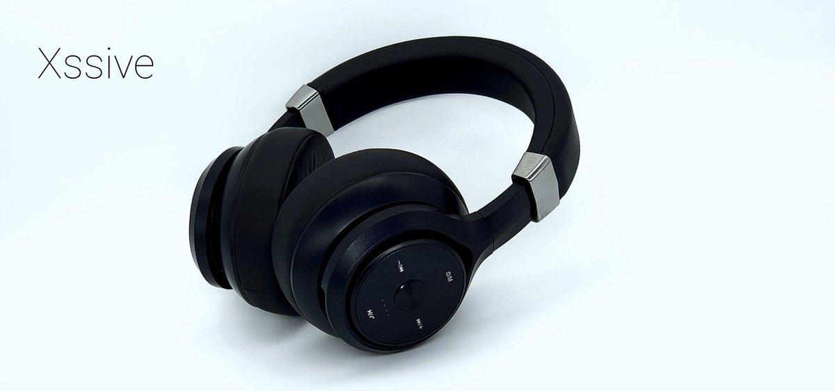 Xssive Koptelefoon – Over-ear Draadloze Koptelefoon – Extreem Deep base – Wireless Headphone