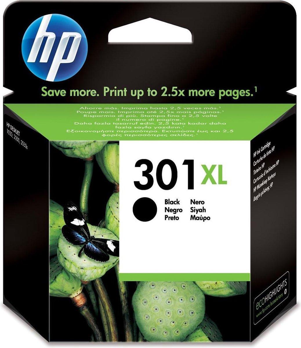 HP 301XL - Inktcartridge / Hoge Capaciteit / Zwart