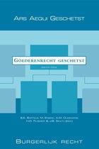 Omslag Ars Aequi libri  -   Goederenrecht geschetst