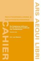 Boek cover Ars Aequi Cahiers rechtsvergelijking en rechtsgeschiedenis  -   De Zutphense juffrouw en de ontrouwe bediende van Lindenbaum van G.E. van Maanen (Paperback)