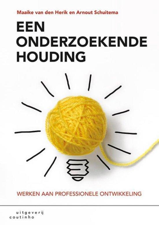 Boek cover Een onderzoekende houding van Maaike van den Herik (Paperback)