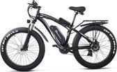 Elektrische fiets Fat Tire ebike 1000W lithiumbatterij 26 Inch Shimano 21 Speed heren