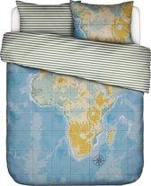 100% katoen dekbedovertrekset 240x220 cm + 2 slopen 60x70 cm AFRICA - Covers & C°