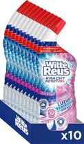 Witte Reus Kracht Actief Gel Bloesem - Toiletreiniger - Voordeelverpakking - 10 x 700ml