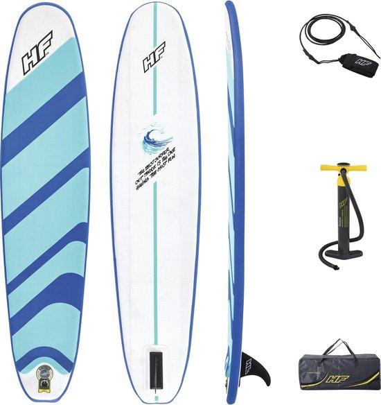 Hydro Force Compact Surf 8   Opblaasbaar surfboard   surfplank 243x57 cm