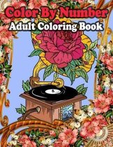 Color By Number Adult Coloring Book