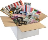 Creatieve knutselbox van Craft Sensations - Creatief voor volwassenen - Tekenen | Diamond Painting | Knutselen | Washitape