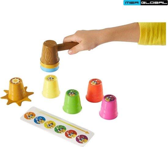 Thumbnail van een extra afbeelding van het spel Stack-A-Mole Game - Spelletjes voor Kinderen - Stapelspel op Tijd - Educatief Spelletje - Spel voor Kerst