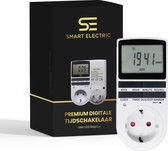 Premium Digitale Tijdschakelaar - Met LCD Display -  Schakelklok - Tijdschakelklok - Voor Stopcontact