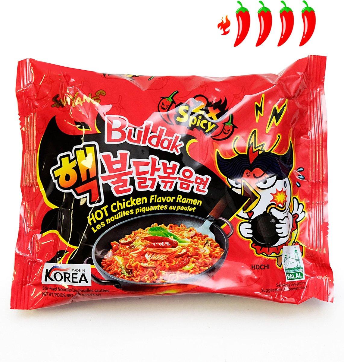 Hot Chicken Ramen 2x Spicy
