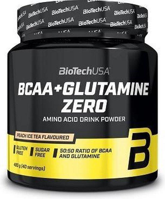 BioTech USA BCAA + Glutamine (480gr) Lemon Flavoured