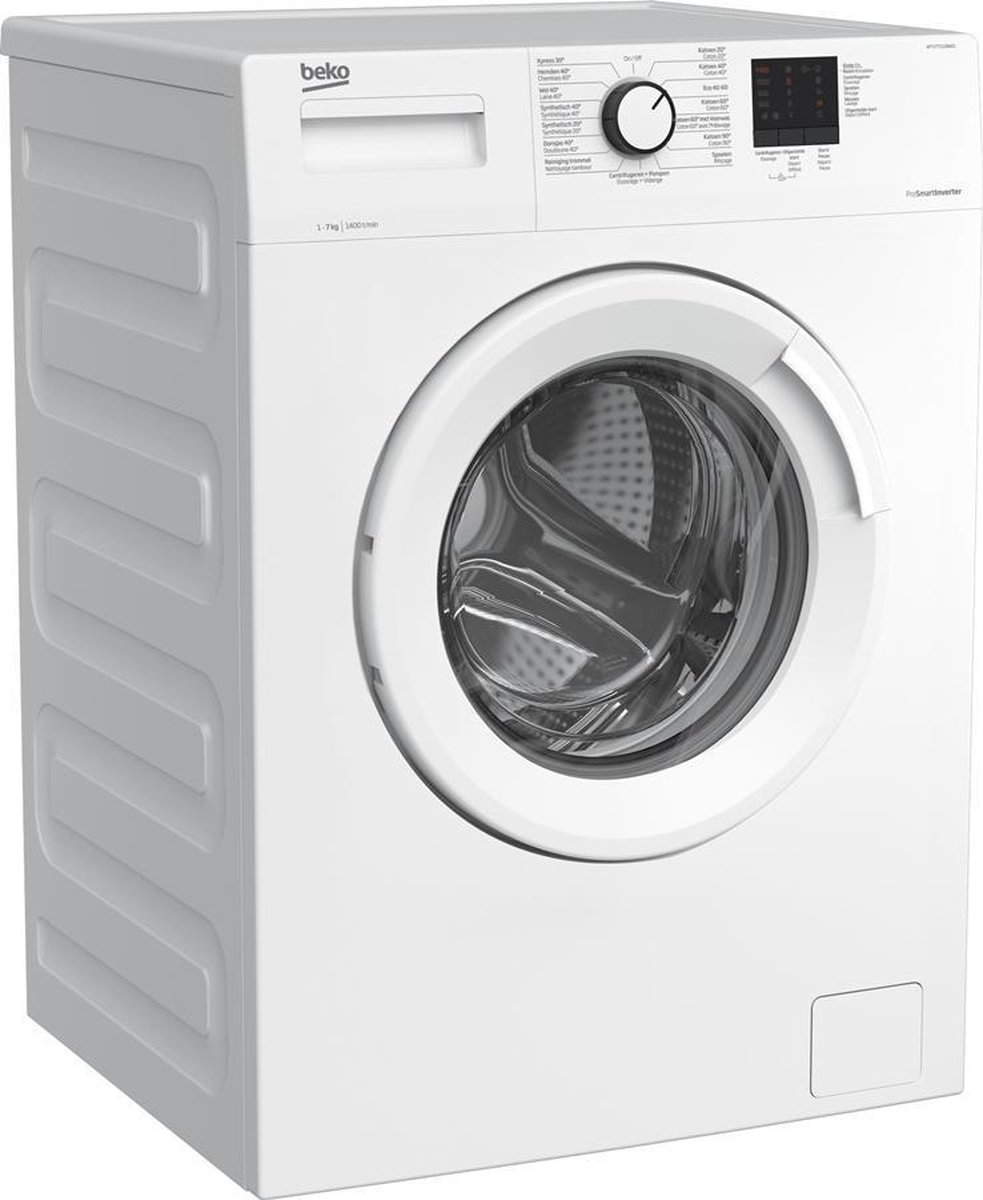 Beko wasmachine WTV77111BW01 – 7kg – A+++ – 1400 toeren
