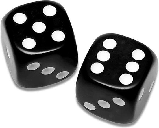 Thumbnail van een extra afbeelding van het spel ✿ Brenlux - Mini dobbelstenen zwart - Kleine dobbelstenen 10st - Gezelschapsspelletjes - Dobbelstenen klein - Zwarte dobbelstenen - Pocket dobbelstenen