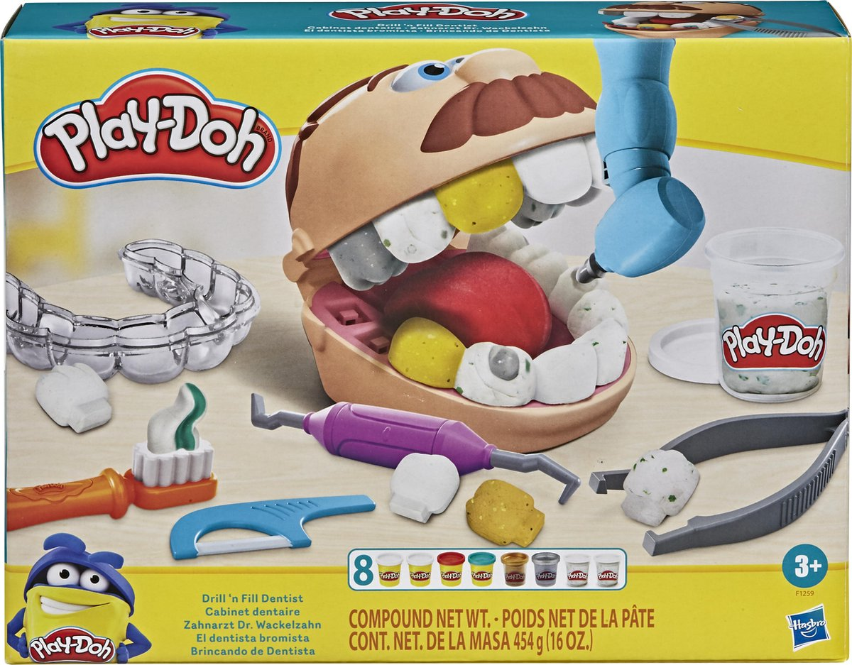 Play-Doh Top Tandarts - Klei Speelset