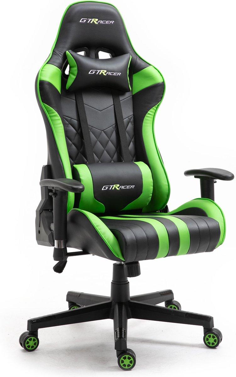 GTRacer Superior - E-Sports - Game stoel - Ergonomisch - Bureaustoel - Verstelbaar - Racing - Gaming