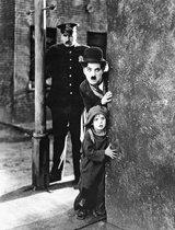 Charlie Chaplin poster The Kid filmster komiek Hollywood formaat 61 x 91.5 cm.