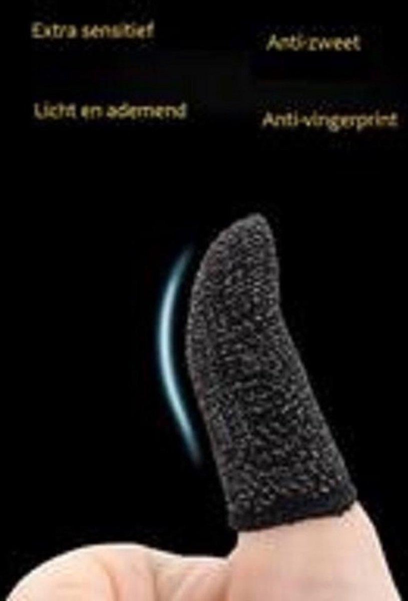 Finger Sleeve Mobile Gaming - Anti-fingerprint vinger hoesjes