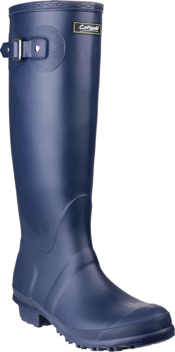 Cotswold Sandringham Buckle-Up Womens Wellington Boots (Marine)