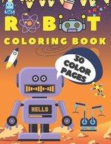 Robot Coloring Book