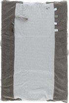 Snoozebaby aankleedkussenhoes Happy Dressing van organic katoen - 45x70cm - Warm Brown bruin