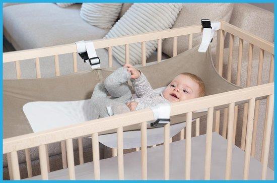 Product: MAMEA- Zomer Hangmat voor Babybedje - Draagbaar uniseks hangbed met 6 verstelbare veiligheid - Babyschommel - kraamcadeaus -  Eenvoudig op te zetten wieg - baby geschenksets, van het merk MAMEA