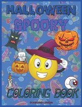 Halloween Spooky Coloring Book